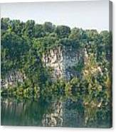 Cedar Hollow Quarry Panorama Canvas Print