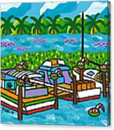 Cedar Key Bayou Canvas Print