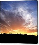 Cedar Lake Sunset Canvas Print