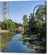 Cedar Point Ohio Canvas Print