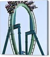 Cedar Point Roller Coaster Canvas Print