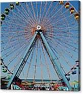 Cedar Point Sunday Canvas Print