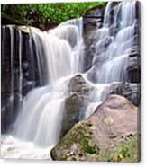 Cedar Rock Creek Falls Canvas Print