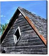 Cedar Shingles Canvas Print