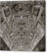 Ceiling Of Hall Of Maps Canvas Print