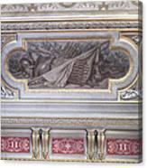 Ceiling Study Chateau De Chantilly Canvas Print