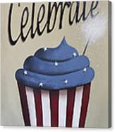 Celebrate The 4th Of July Canvas Print