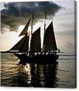 Celebrating Sunset Photograph Canvas Print