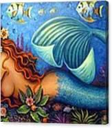 Celeste The Goddess Of The Sea Canvas Print