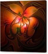 Celestial Callas Canvas Print