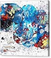 Celestial Chaos Canvas Print