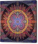 Celestial Clockwork Canvas Print