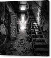 Cell Block - Historic Ruins - Penitentiary - Gary Heller Canvas Print