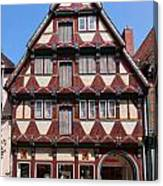 Celle Old Houses Canvas Print