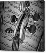 Cello Classic Art Canvas Print