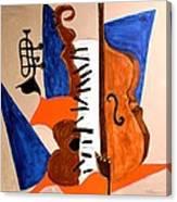 Cello II Canvas Print
