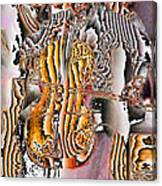 Cello Man Canvas Print