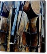 Cellos 6 Canvas Print