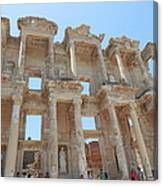 Celsus Library In Ephesus Canvas Print