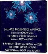 Celtic New Year Canvas Print