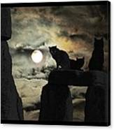 Celtic Nights Selective Coloring Canvas Print