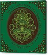 Celtic Pagan Fertility Goddess Canvas Print