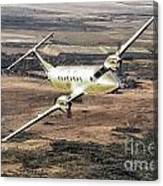 Cemair Beech 1900 Plane Airplane Flying Flight Canvas Print
