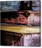 Cement Steps Number One Canvas Print