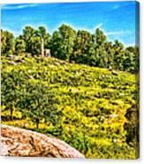 Cemetary Ridge Gettysburg Battleground Canvas Print