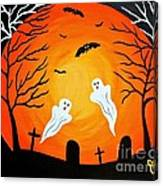 Cemetery Ghosts Canvas Print