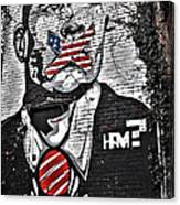 Censorship Expressed Mural Canvas Print