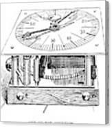 Census Machine, 1890 Canvas Print