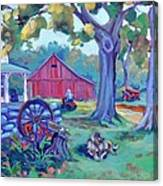 Centennial Morning Canvas Print