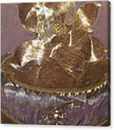 Center Detail At Lotus Canvas Print