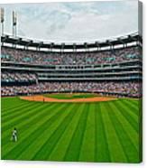 Center Field Canvas Print