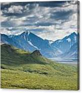 Center Of The Valley Canvas Print