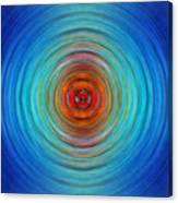 Center Point - Abstract Art By Sharon Cummings Canvas Print