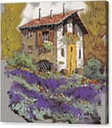 Cento Lavande Canvas Print