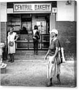 Central Bakery St. Lucia Canvas Print