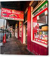 Central Grocery And Deli In New Orleans Canvas Print