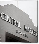 Central Market Canvas Print