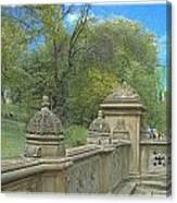 Central Park Bathsheba Terrace 2 Canvas Print