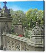 Central Park Bathsheba Terrace 3 Canvas Print
