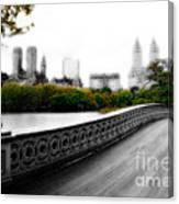 Central Park Bridge 2 Canvas Print