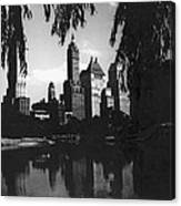 Central Park Evening View Canvas Print