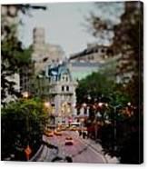 Central Park Fairytales Canvas Print
