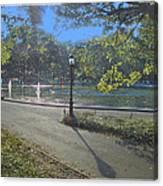Central Park In September 2 Canvas Print