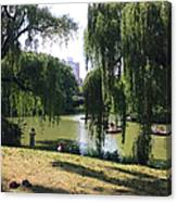 Central Park In The Summer Canvas Print