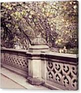 Central Park - New York Canvas Print