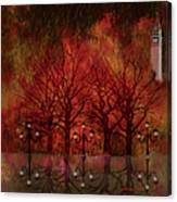 Central Park Ny - Featured Artwork Canvas Print